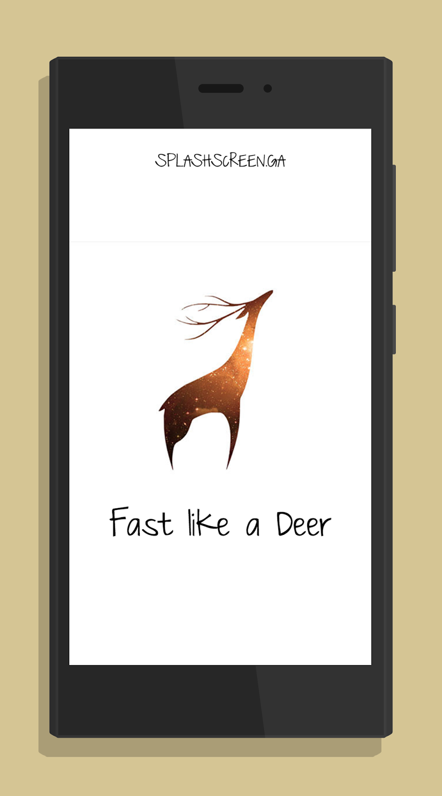 Splashscreen Deer Xiaomi Redmi 2