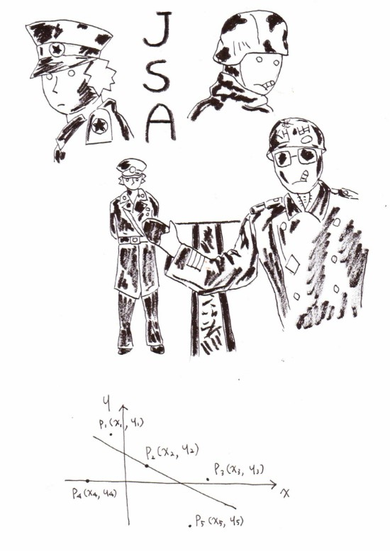 Picasso Math (Math exorcist): Inequality Joint Security Area