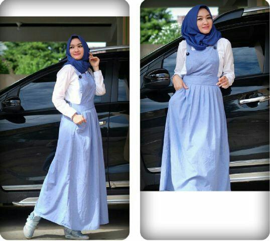 Jual Plus Jilbab / Kerudung 3 In 1 Merissa Overall Hijab - 13221