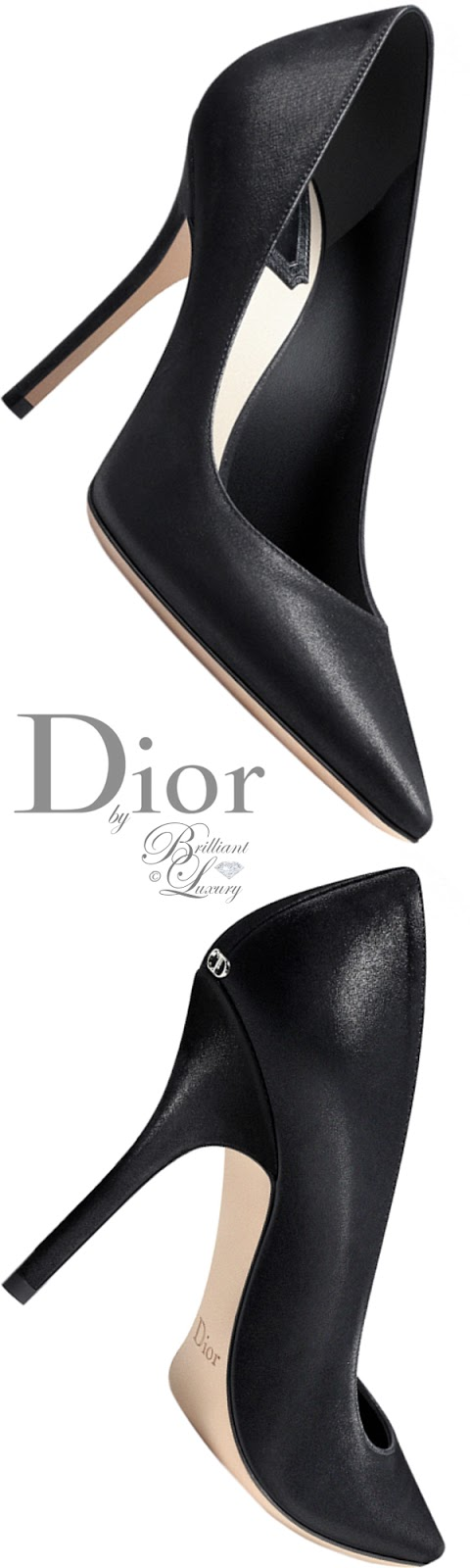 Brilliant Luxury ♦ Dior high heels