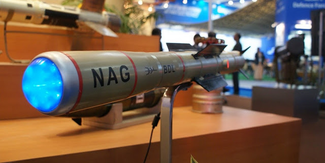 Indian Army to induct 300 Prospina (Nag) ATGMs