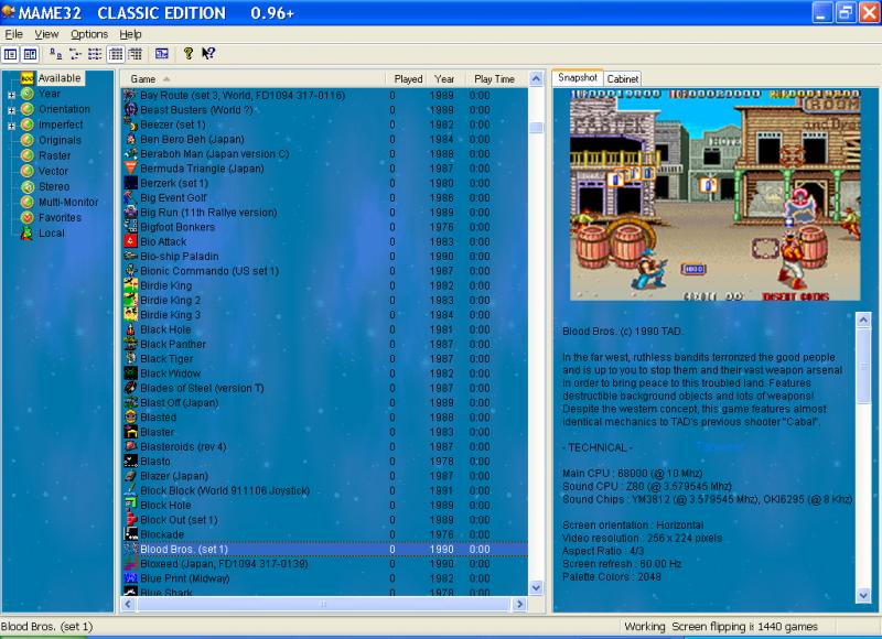 Mame32 Best PC Game Pack Full Version Free Download