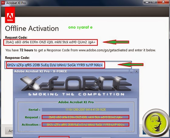 acrobat reader dc offline activation