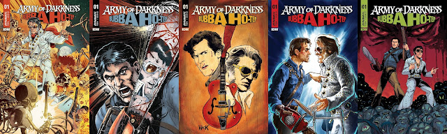 Army of Darkness/Bubba Ho-Tep: le cover del numero 1