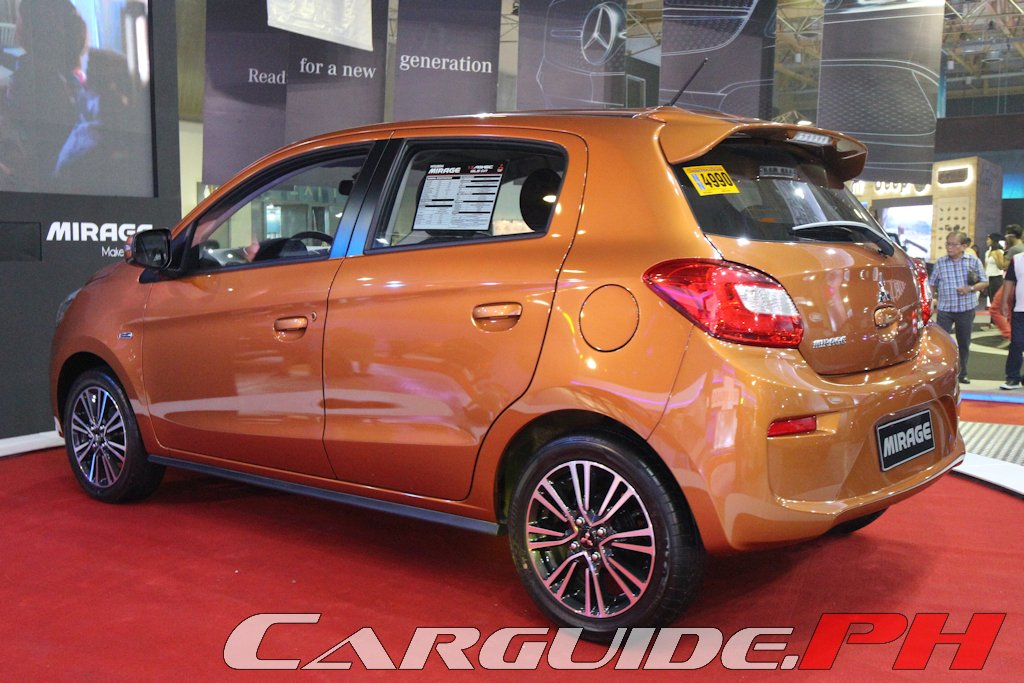 Mias 2016 Mitsubishi Springs Mirage Surprise