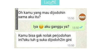 Percakapan Pasangan Dijodohkan Ini Viral, Netizen Ikut Baper
