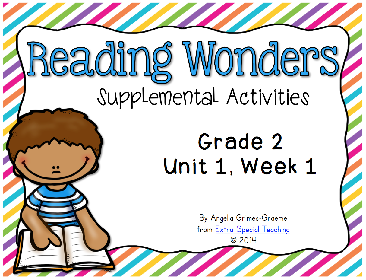 Extra Special Teaching: Reading Wonders Curriculum in my Classroom
