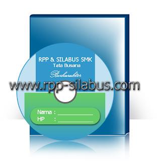 RPP Silabus Tata Busana SMK Berkarakter