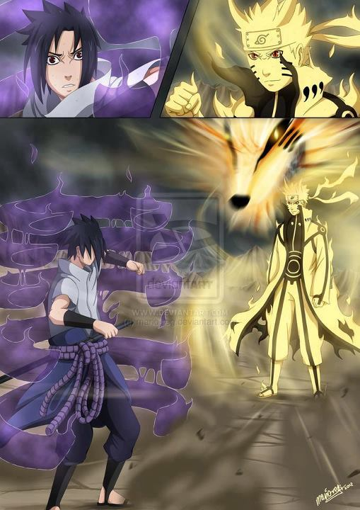 Naruto Bijuu Mode Vs Sasuke Susanoo | www.pixshark.com ...