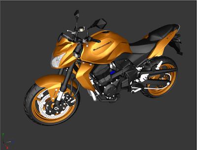 GTA SA - Z750 3D 1