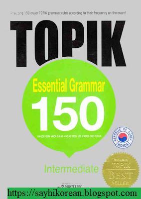 Ebook Topik Esential Grammar 150 Pdf Textbook Say Hi Korean