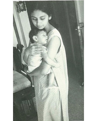 Aditi Rao Hydari Childhood photo