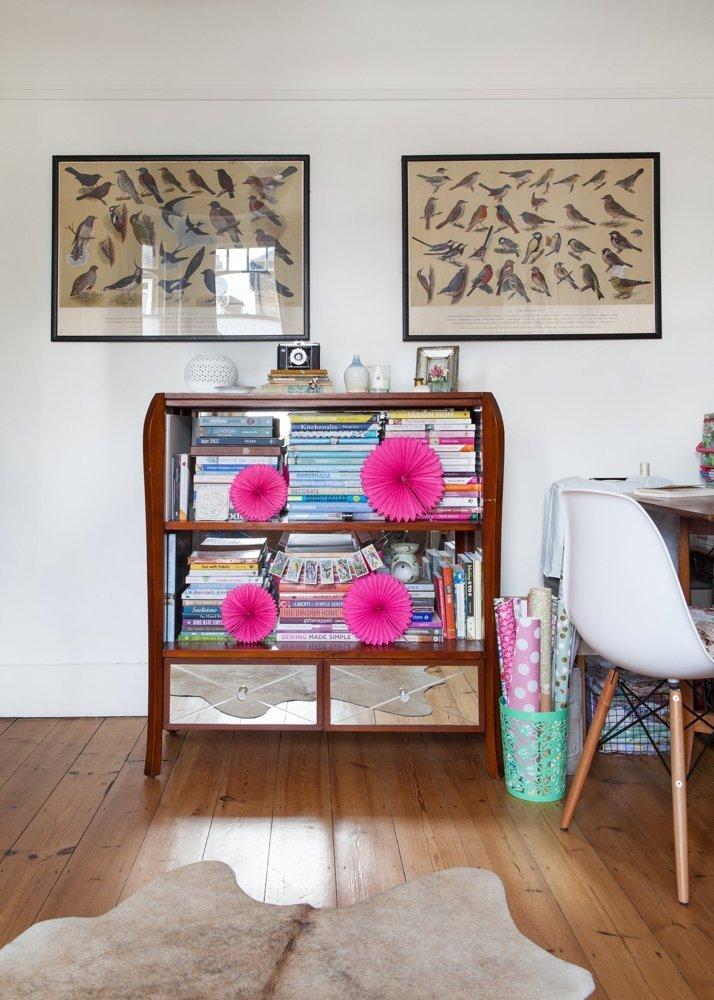 casa familiar con aires vintage y escandinavos. Motivos botánicos