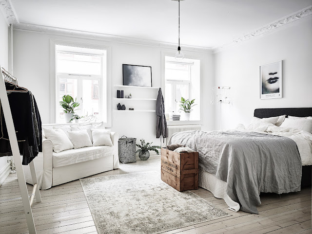 Stylish scandinavian apartment