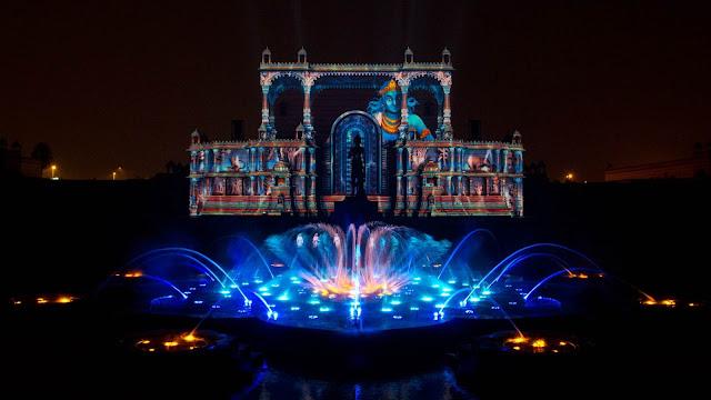 Musical Fountains - Akshardham