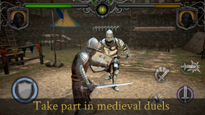 Knights Fight Medieval Arena Data + Mod Apk For Android Terbaru