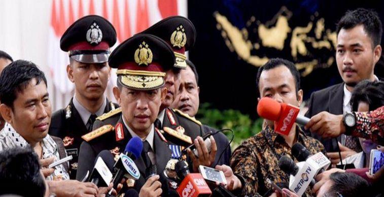 Polisi Buru Ahmad Fatihul Alif , Pembuat Gambar Kapolri Jenderal Tito Karnavian