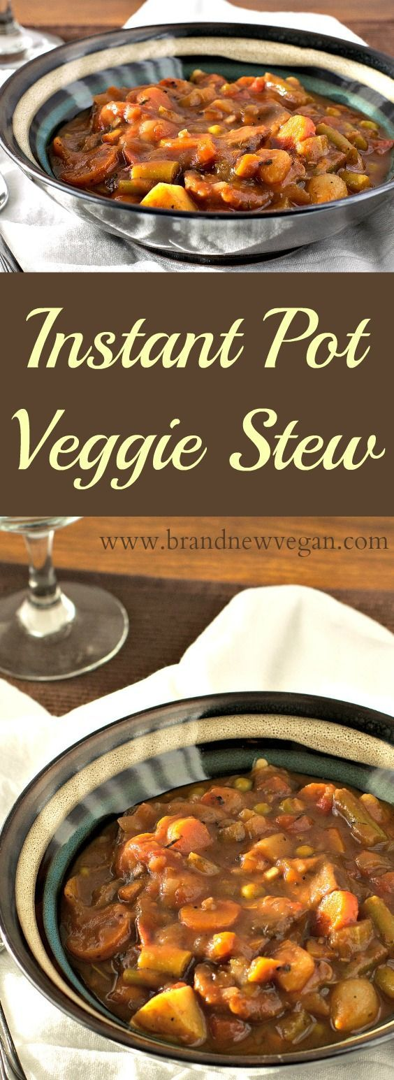 Instan Pot Veggie Stew