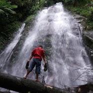 Curug Sibelik Air Terjun Susun Desa Kalitengah Blado