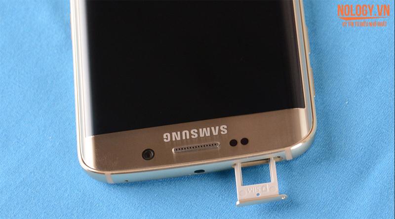 Trên tay chiếc Galaxy S6 Edge cũ