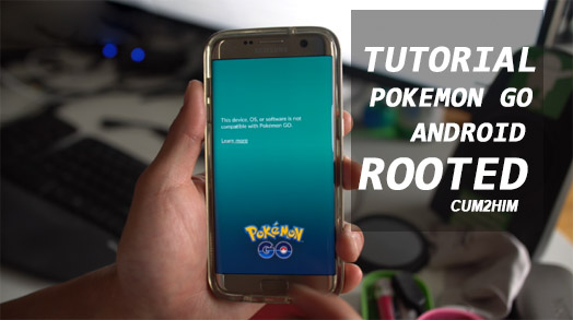 Cara Memainkan Pokemon Go di Android Root