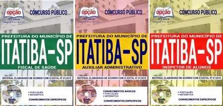 Apostila Concurso Prefeitura de Itatiba 2018