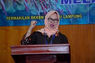 Kepala BKKBN Lampung Buka Sosialisasi Kependudukan