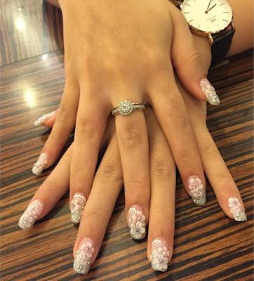 Uñas de Novia Elegantes