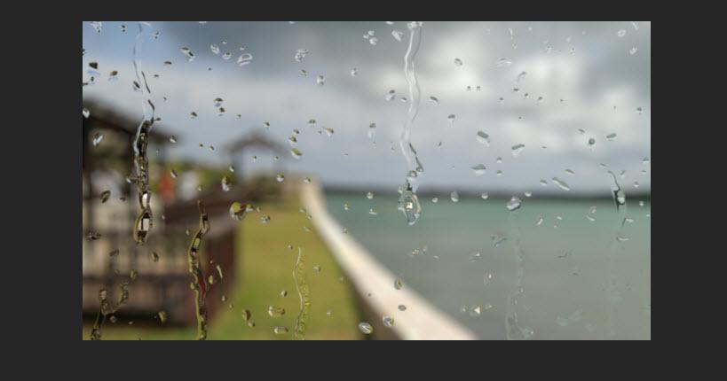 Realistic Rain Drop 783