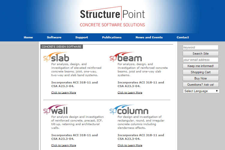 Concrete Beam Design Software