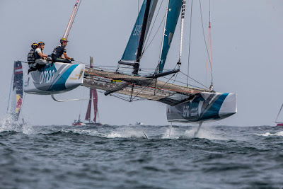 Place aux Extreme Sailing Series 2018
