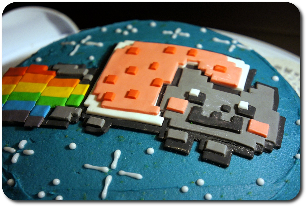 Nyan Cat Birthday Cake Recipe