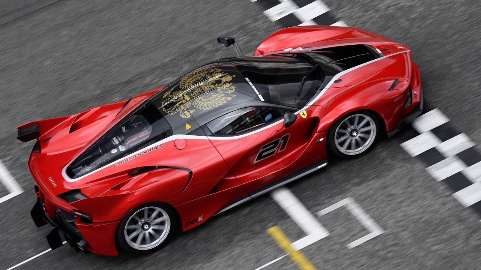 Ngắm Ferrari thả cửa tại ngày hội Ferrari Corse Clienti