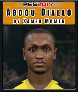 PES 2017 Faces Abdou Diallo by Sameh Momen