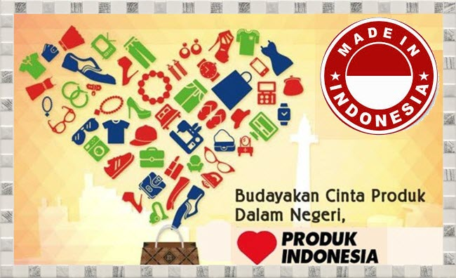 Poster Bertema Cintai Produk Dalam Negeri Mikirbaecom