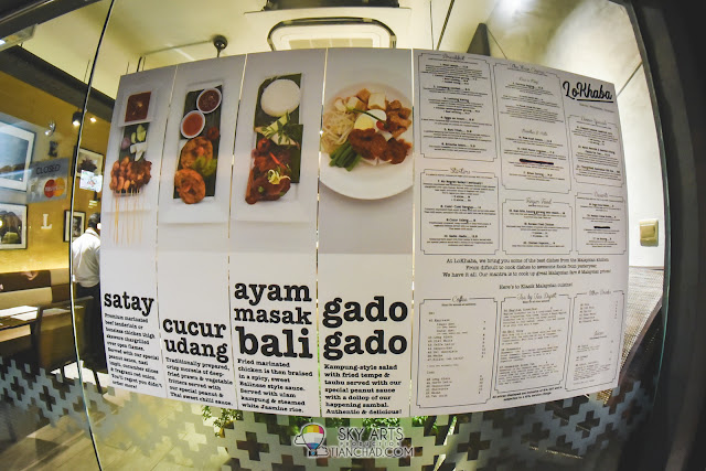 LoKhaba Bangsar Food menu