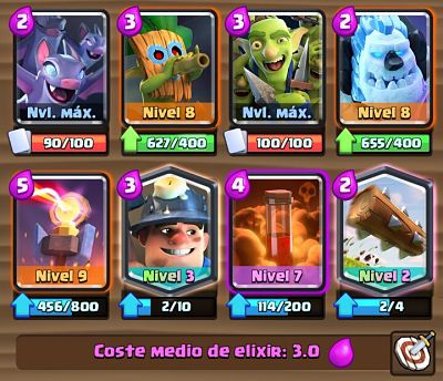 4 Mazo con Torre Infierno Clash Royale