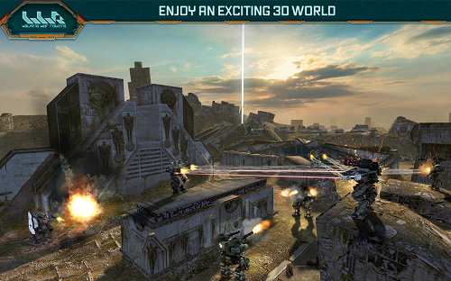 Download game android mod War Robots apk