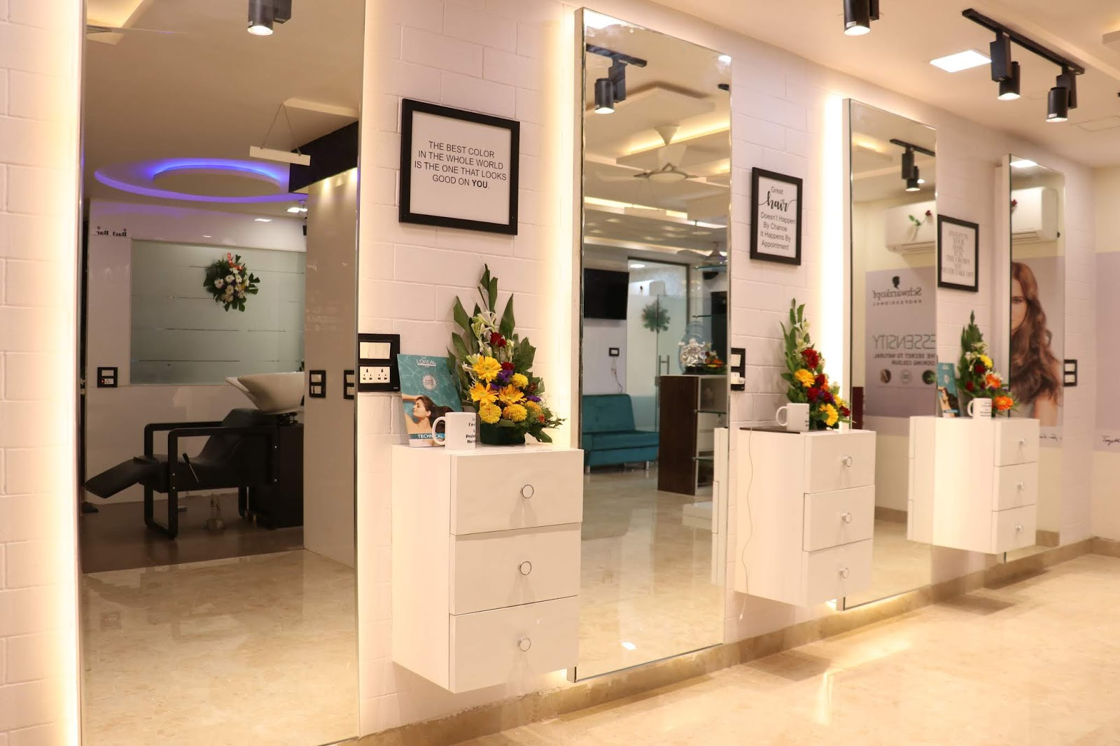 Alpine Beauty Clinic Interior Look Muskaan Arya
