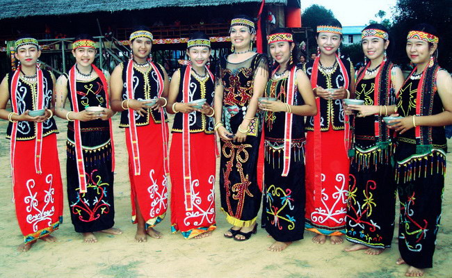 Xvlor Tanjung Isuy Village is Ulap Doyo woven center by Dayak Benuaq tribe