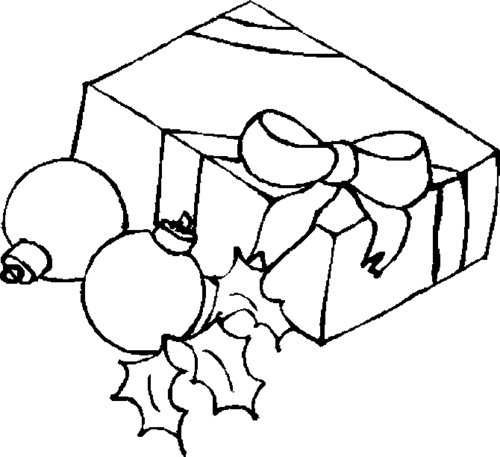 Free Coloring Pages : Free Christmas Presents Coloring Pages ...