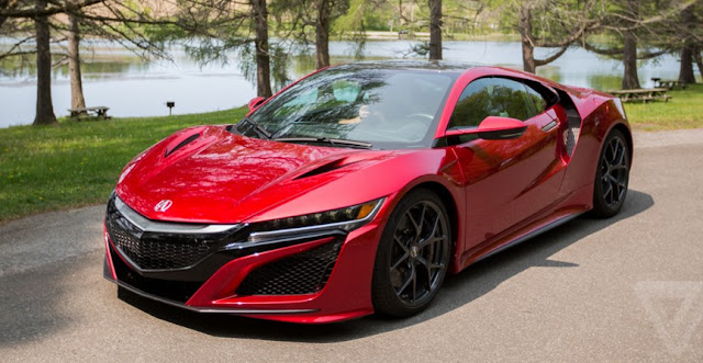 2017 Acura NSX Supercar Review UK