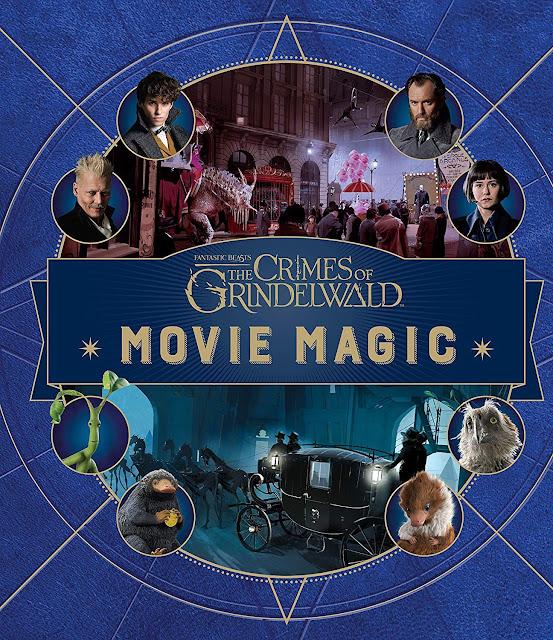Capas dos livros de bastidores 'Lights, Camera, Magic!' e 'Movie Magic' são reveladas | Ordem da Fênix Brasileira
