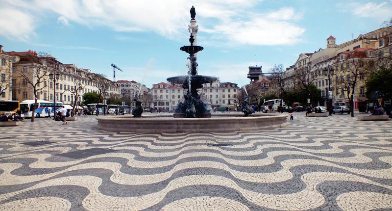 praça do rossio lisboa mapa Praça do Rossio e Dom Pedro IV em Lisboa   Dicas de Lisboa e Portugal praça do rossio lisboa mapa