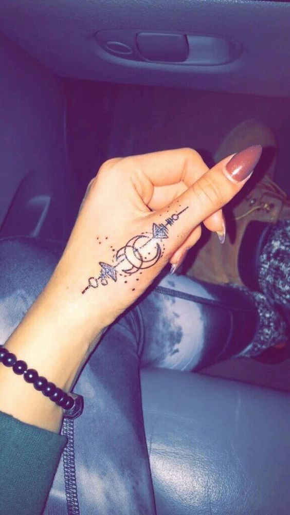 Cute Henna Tattoo Designs on Finger