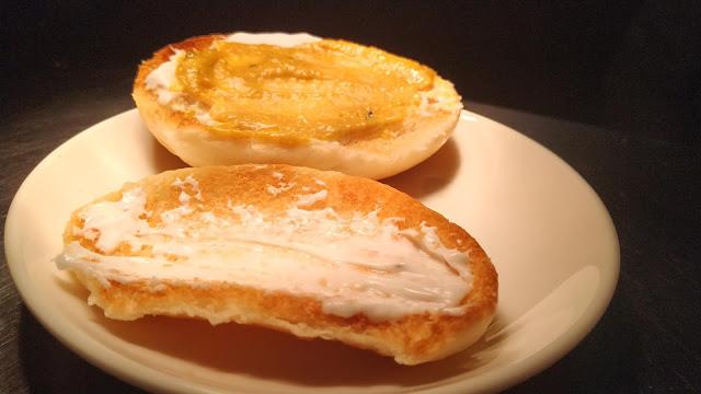 Mustard Paste and mayonnaise spread on Hot Dog bun Food Recipe