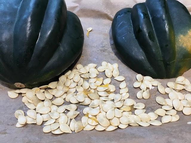 acorn squash and acorn squash seeds
