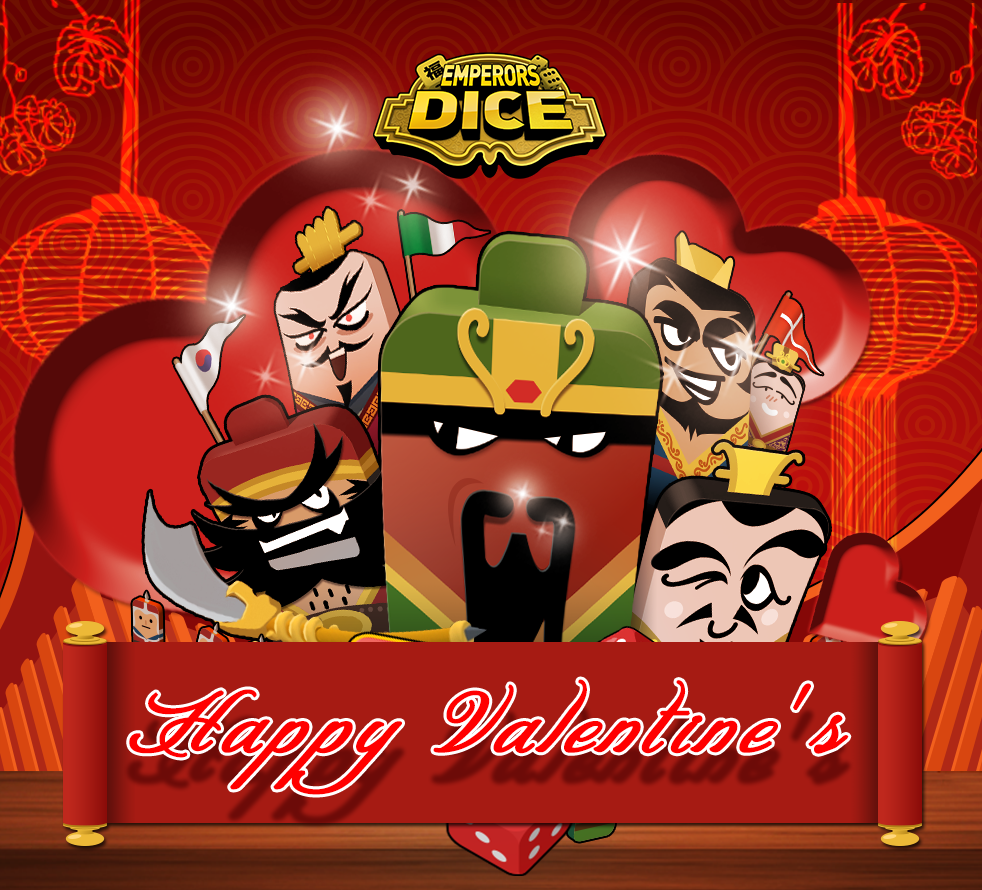 Emperor's Dice Valentine's Day Event