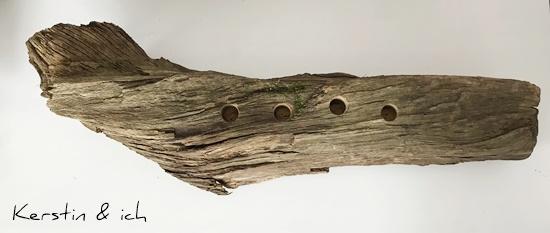 Adventskranz DIY Selbermachen Holz Weihnachten