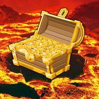 Games2Rule Volcano Treasure Hunt Escape